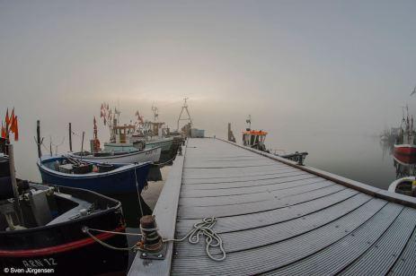 Nordhafen Kappeln - mystische Stimmung